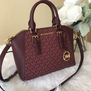 New Michael Kors medium Ciara messenger bag